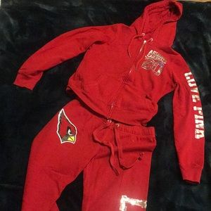 Victoria Secret PINK hoodie / Arizona Cardinals